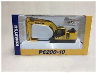 New Komatsu PC200-10 Excavator 1/50 Scale-DieCast High-Quality Model Collection