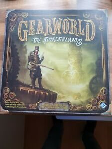 GEARWORLD THE BOARDERLANDS BOARD GAME NEW CONDITION