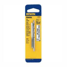Irwin 80220 Tap & Drill Bit Set, 10-24 NC High Carbon Steel Plug Tap