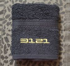 Prince - 3121 Black Stage Towel - From 3121 in Vegas - Unique & RARE Collectible