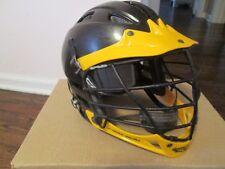 Cascade Cpv Lacrosse Helmet Black/Gold Adjustable Spr-Fit Size S/M-Only Blk/Gold