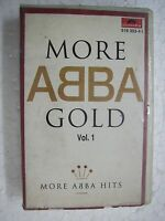 ABBA MORE GOLD VOL 1 RARE orig CLAMSHELL CASSETTE TAPE INDIA indian 1994