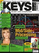 UVI Falcon Mid/Side Processing - Keys DVD mit Loops Samples Workshops und Tests