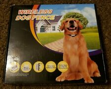 New listing Wireless Dog Fence C-100 With Two Collars New Open Box