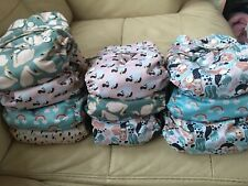 New Listing12 Brand New Pocket Cloth Diapers- Prepped And Ready