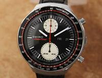 Seiko Speed Timer Mens Jumbo 43mm Made in Japan 1970s Chronograph Watch YY60