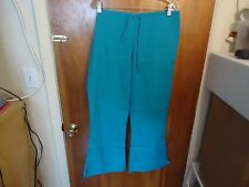 """Cherokee Size M Teal Blue Scrubs Pants """" GREAT PAIR """""""