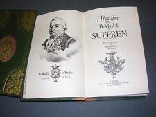 Marine Histoire du Bailli de Suffren 18eme siècle réimpression 1968 gravures