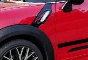 Mini OEM Countryman Paceman R60 R61 JCW Black & Red Side Vents Brand New