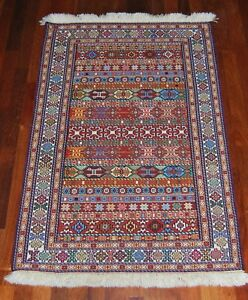 Persian Kilim Rug, Sirjan Unique Tribal Design, High Quality