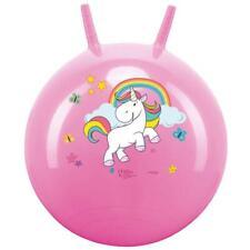 John Einhorn Hopperball Hüpfball Springball Hopper Ball für Innen & Außen Pink