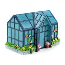 Miniature Dollhouse Fairy Garden - Green House - Accessories