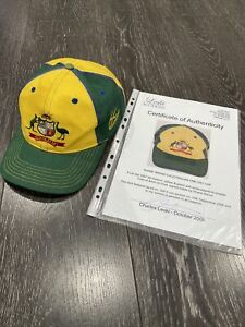 Shane Warne 97/98 One Day Cap Used And Signed With Coa