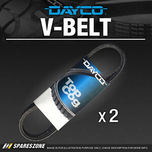 Dayco Alternator or Fan Belt for Isuzu NKR57 NKR250 NKR58 NPR200 400 NPS300 N6