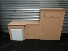 MDF Camper Campervan Interior P Top Kitchen Cupboard For Sink Hob Fridge VW