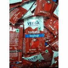 Veeba Tomato Ketchup Sachet 8 gm (Pack of 100)