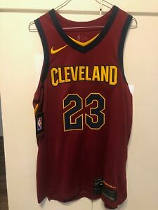 NBA Cleveland Cavaliers Lebron James Authentic Jersey Nike sz 44