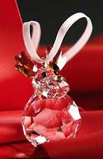 SWAROVSKI CHRISTMAS ORNAMENT - ROCKING REINDEER 5189474 MINT BOXED RETIRED RARE