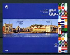 Portugal 2017 MNH Lisbon Ibero-American Capital of Culture 1v M/S Tourism Stamps