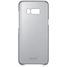 Samsung Custodia Originale Clear Cover Grigia translucida per Galaxy S8 Plus