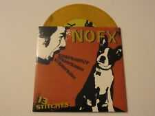 "NOFX 13 Stitches 7"" COLORED VINYL fat wreck chords RARE OOP UNPLAYED"