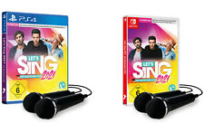 Let's Sing 2021 | mit & ohne Micros | NEU & OVP | PS4 / Nintendo Switch | Lets |