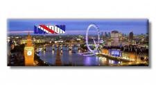 Londra Big Ben Occhio Gran Bretagna Foto Panorama Magnete Souvenir Frigo