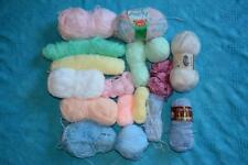 NEW-unused ODDMENTS Knitting Wool 650g Patons-Sirdar 3/4 PLY BABY WOOL + MORE
