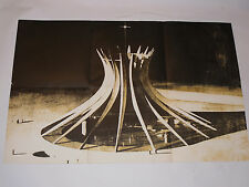 DOORWAY TO BRASILIA 1959 RARE BOOK WITH POSTER! 409 OF 2000! PRINTS FOR FRAMING