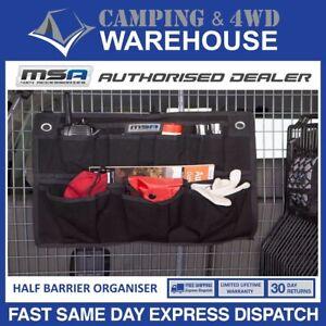 MSA 4X4 Half Barrier Organiser Heavy Duty Canvas Compartment Storage