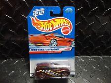 Hot Wheels #633 Brown Dodge Caravan w/Razor Wheels