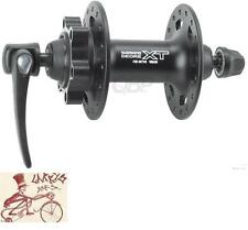 SHIMANO XT M756--32H--QUICK RELEASE AXLE DISC HUB BLACK BICYCLE FRONT HUB