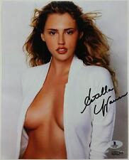 ESTELLA WARREN Signed 8x10 Photo #4 Victoria's Secret Model w/ Beckett BAS COA