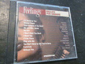 CD Ballads For - Dream Warr- #Feelings Compilation 2002 Pretenders Bangles Etc