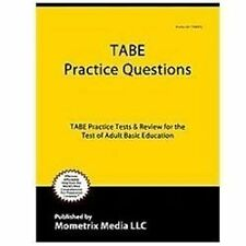 TABE Practice Questions: TABE Practice Tests & Exam Review for the-ExLibrary