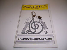 1979 IMPERIAL THEATRE PLAYBILL - THEY'RE PLAYING OUR SONG -ROB KLEIN LUCIE ARNAZ