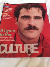 Culture Magazine - 26 January 2014 - Joaquin Phoenix Jonathan Groff Oscar Isaac