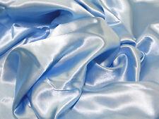 LUCE Blu Pantofole Con Raso / Setosa / LUCIDO Abito tessuto 150cm Ampio venduti al metro