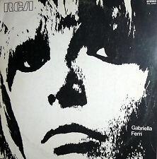 GABRIELLA FERRI  LP OMONIMO 1970  I^ press -STAMPA + regalo poster + libretto