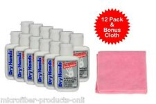 12 pack Dry Hands Powder 1oz Solution + Pink Cloth Pole Dancing Sports Golf Grip