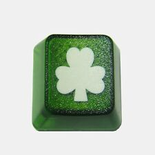 Translucent Shamrock Novelty Doubleshot Cherry MX Keycaps / Key cap