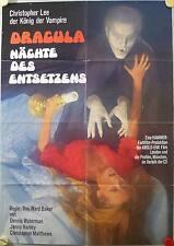 Dracula Nächte des Entsetzens Filmposter A1 Scars of Dracula Christopher Lee HH