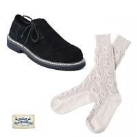 Traditionelle schwarze Trachten Haferlschuhe & Socken dazu geschenkt! UVP 64,80€