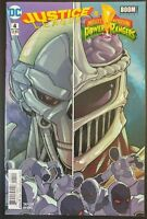 JUSTICE LEAGUE / Mighty Morphin POWER RANGERS #4 (of 6) (2017 DC Comics) VF/NM