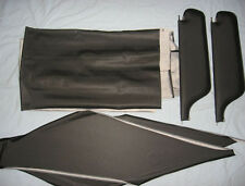 66 Impala SS and fast back  new  sun visors & headliner kit  blk tier