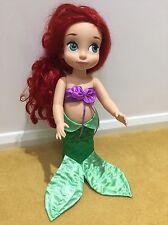 """Disney Store 16"""" Sirenita Ariel Princesa Disney Animator muñeca del niño"""