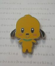 Disney Cutie Cute Baby Character BIG HEAD PLUTO Smiling Dog Starter Set PWP Pin