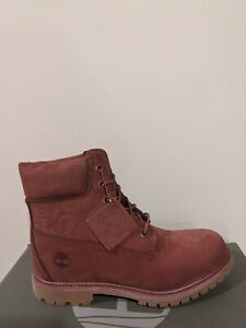 "Timberland Women's Embossed 6 inch"" Double Sole Premium Waterproof Boots NIB"