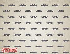 Children mustache 7x5 FT CP PHOTO SCENIC BACKGROUND BACKDROP SK452