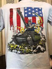 VTG 88 MOD  Method of Destruction Tour Shirt Sz M Rock Metal Thrash SOD Slayer